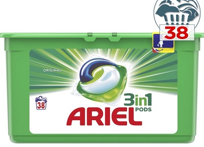 ARIEL ALL IN TABS 38 U  CT