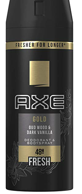 AXE 150ML GOLD DARK VAINILLA SPAIN