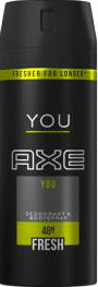 AXE 150ML YOU EU NEW