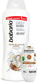BABARIA GEL COCO 1L+DEO