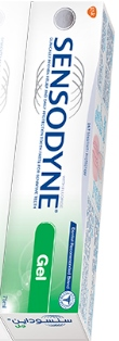 SENSODYNE GEL MENTA 75 ML cadu