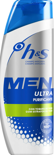 H&S 225ML MEN ULTRA PURIFICANTE