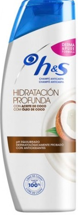 H&S 380ML ANTI CASPA COCO