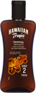 HAWAIIAN TROPIC SPF 2 OIL  200ML