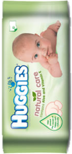 HUGGIES TOALLITAS NATURAL CARE 56 UNIT A
