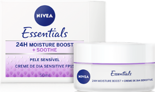 NIVEA 50ML CREMA DIA SENSITIVE
