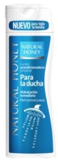 NATURAL HONEY BODY MILK 330ML DUCHA
