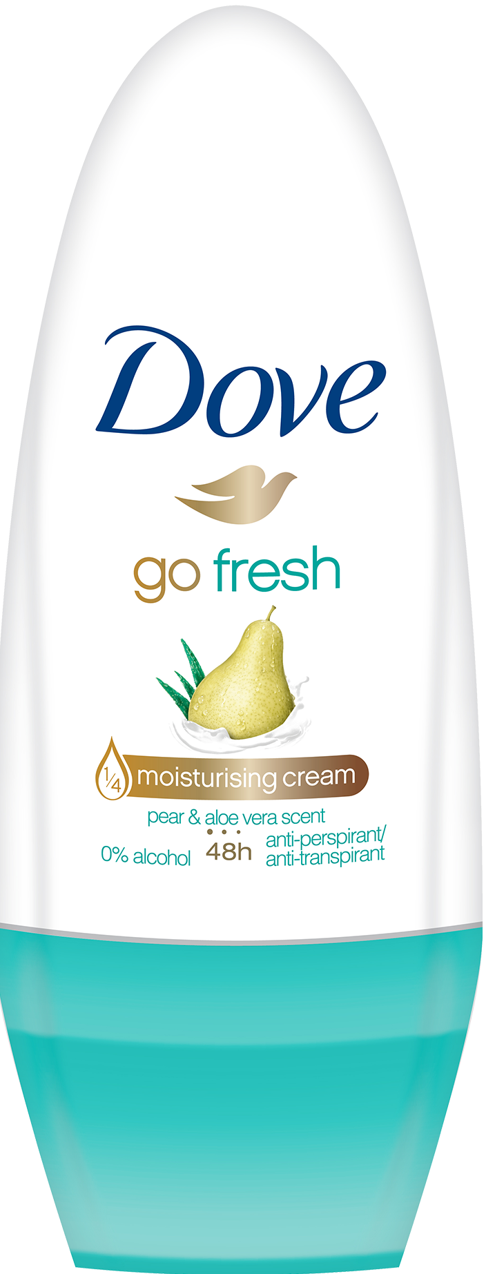 DOVE DEO ROLLON 50ML PERA & ALOE