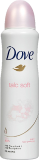 DOVE DEO SPRAY  250 ML TALC SOFT