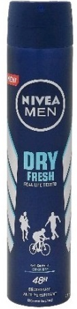 NIVEA DEO 200ML DRY FRESH  MEN