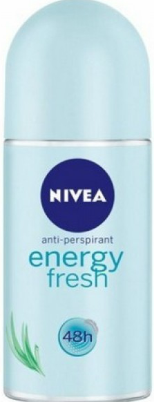 NIVEA DEO ROLL ON ENERGY FRESH FOR WOMAN 50 ML