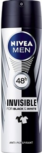 NIVEA DEO SPRAY INVISIBLE  MEN 200 ML