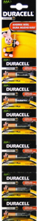 DURACELL LR03 AAA X 6 UNIDADES