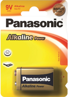 PANASONIC ALKALINE POWER 6LR61 9V