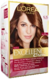 LOREAL EXCELLENCE TINTE 6/35